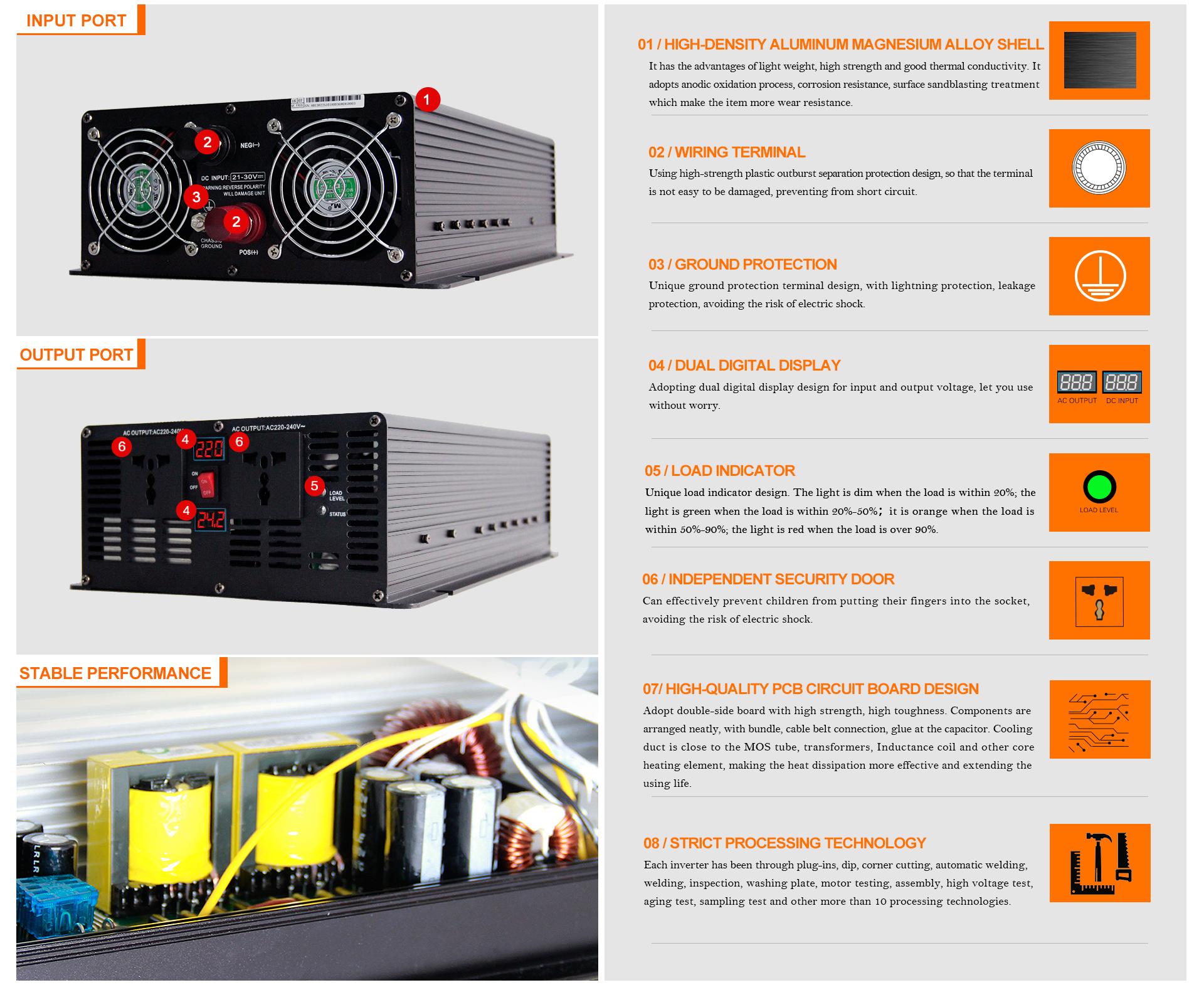 Moregosolar 2KW Solar Inverter - Nanjing Moge New Energy Co , Ltd